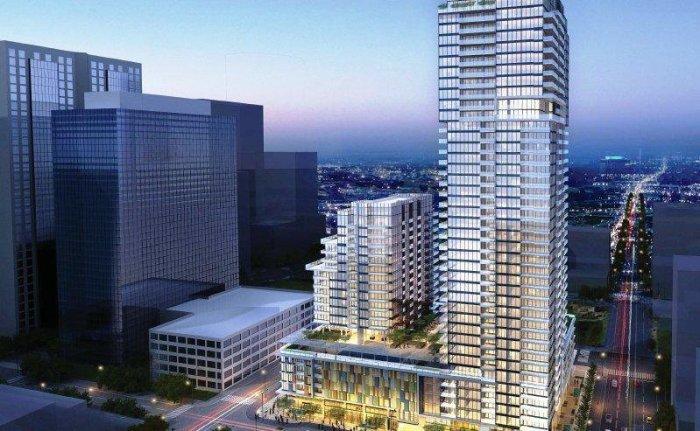 Downtown San Diego Bosa Condo Development